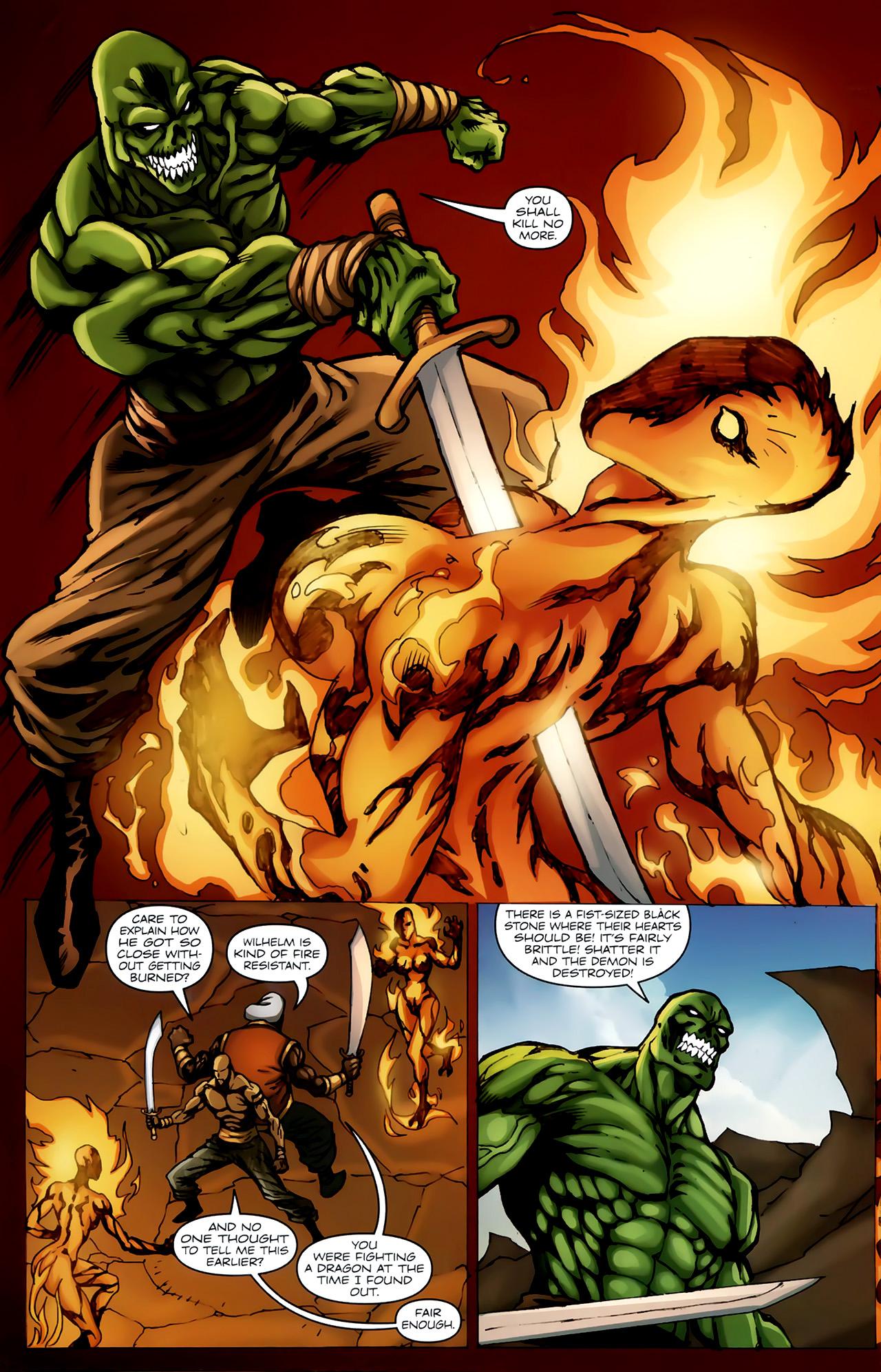 Read online 1001 Arabian Nights: The Adventures of Sinbad comic -  Issue #4 - 17