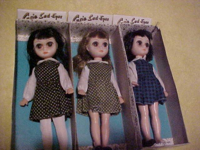 1960 1970 Big Eyed Art Susie Sad Eyes Doll