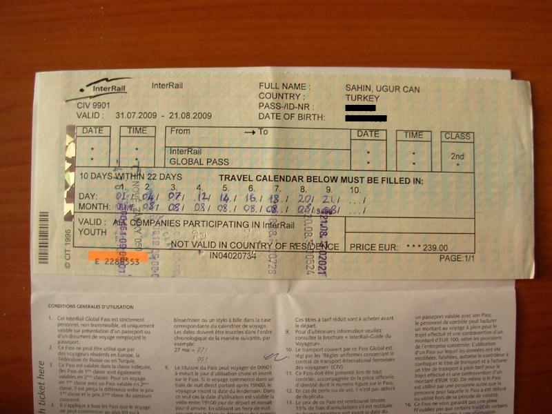 Bewertung Global Tickets