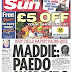 British newspapers: Front pages 22.05.2009