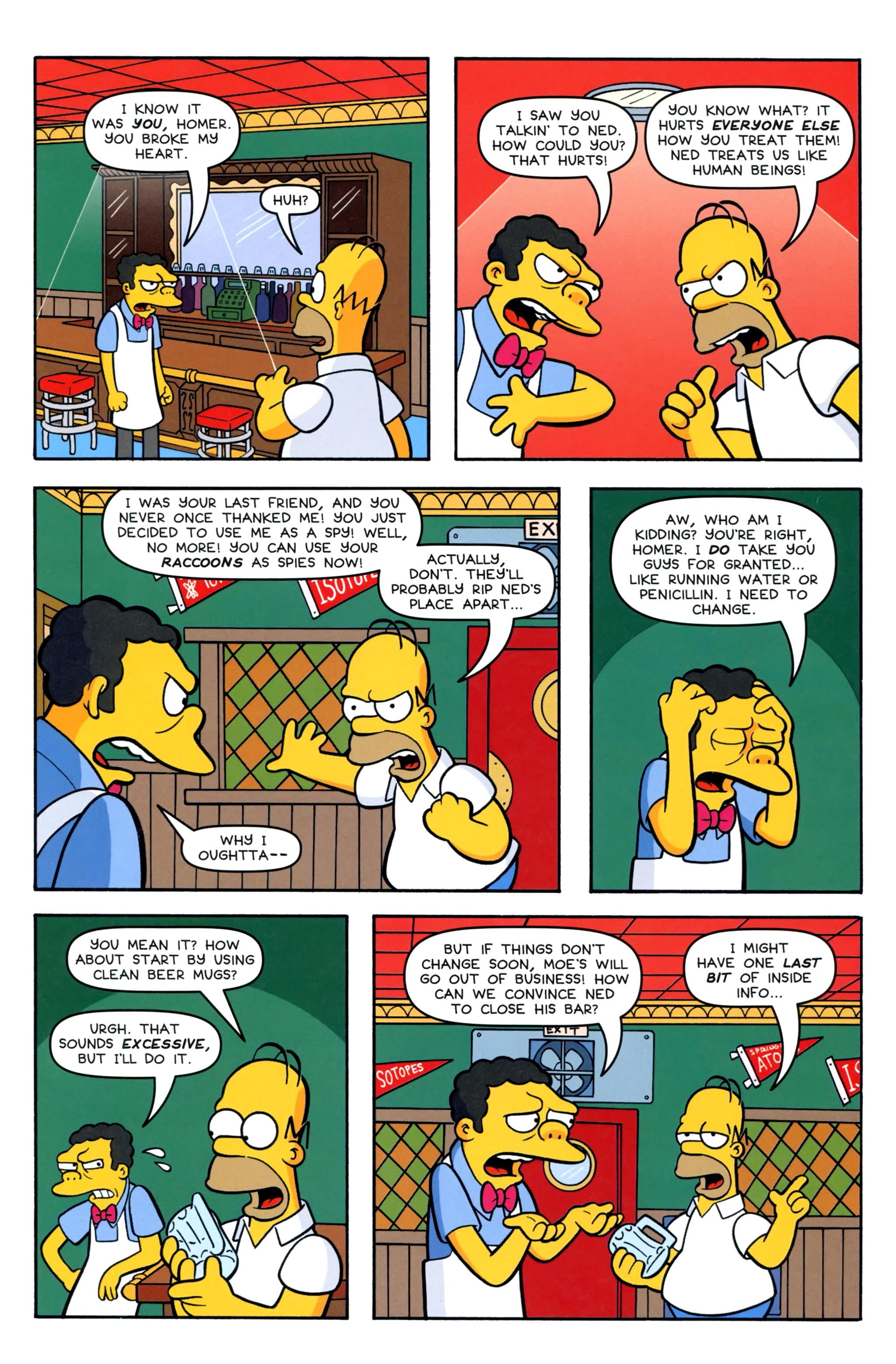 Read online Simpsons Comics comic -  Issue #220 - 23