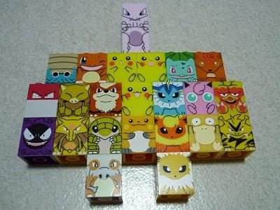 Disney Anime Toys Dat Pokemon Mega Bloks Cube Lego