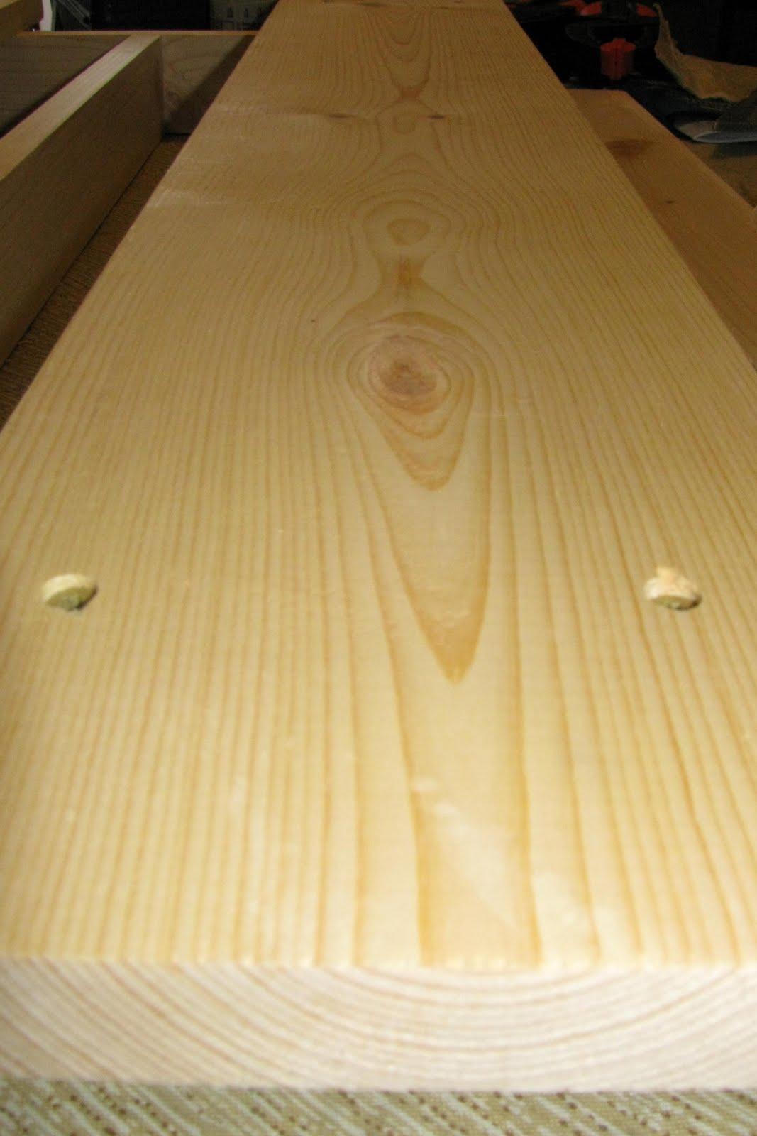 Finish Yourself Wood Flourescent Kitchen Light