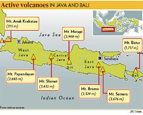 From Where I Am Kuala Lumpur Mount Bromo Eruption Map Video
