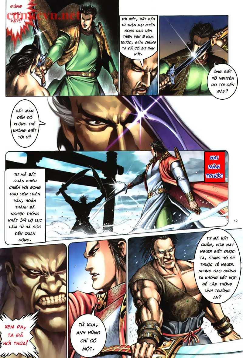 Anh hùng vô lệ Chap 8: Biệt ly là vũ khí trang 11