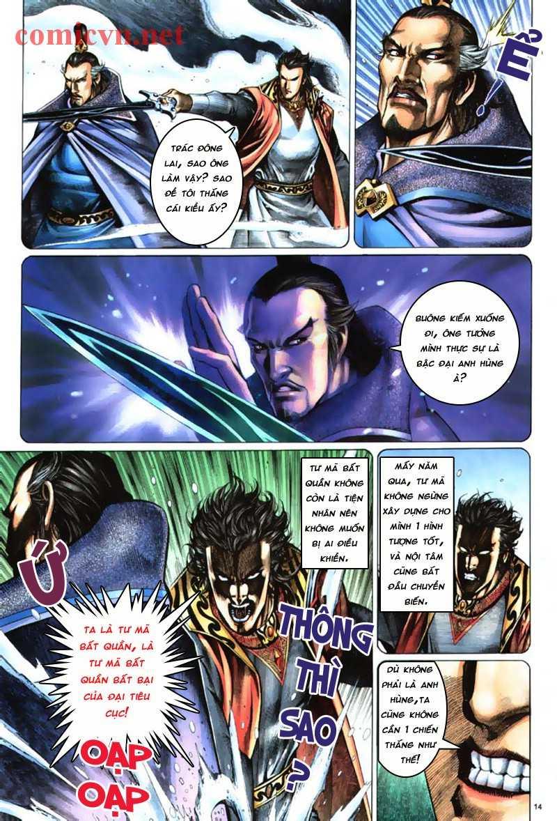 Anh hùng vô lệ Chap 8: Biệt ly là vũ khí trang 13