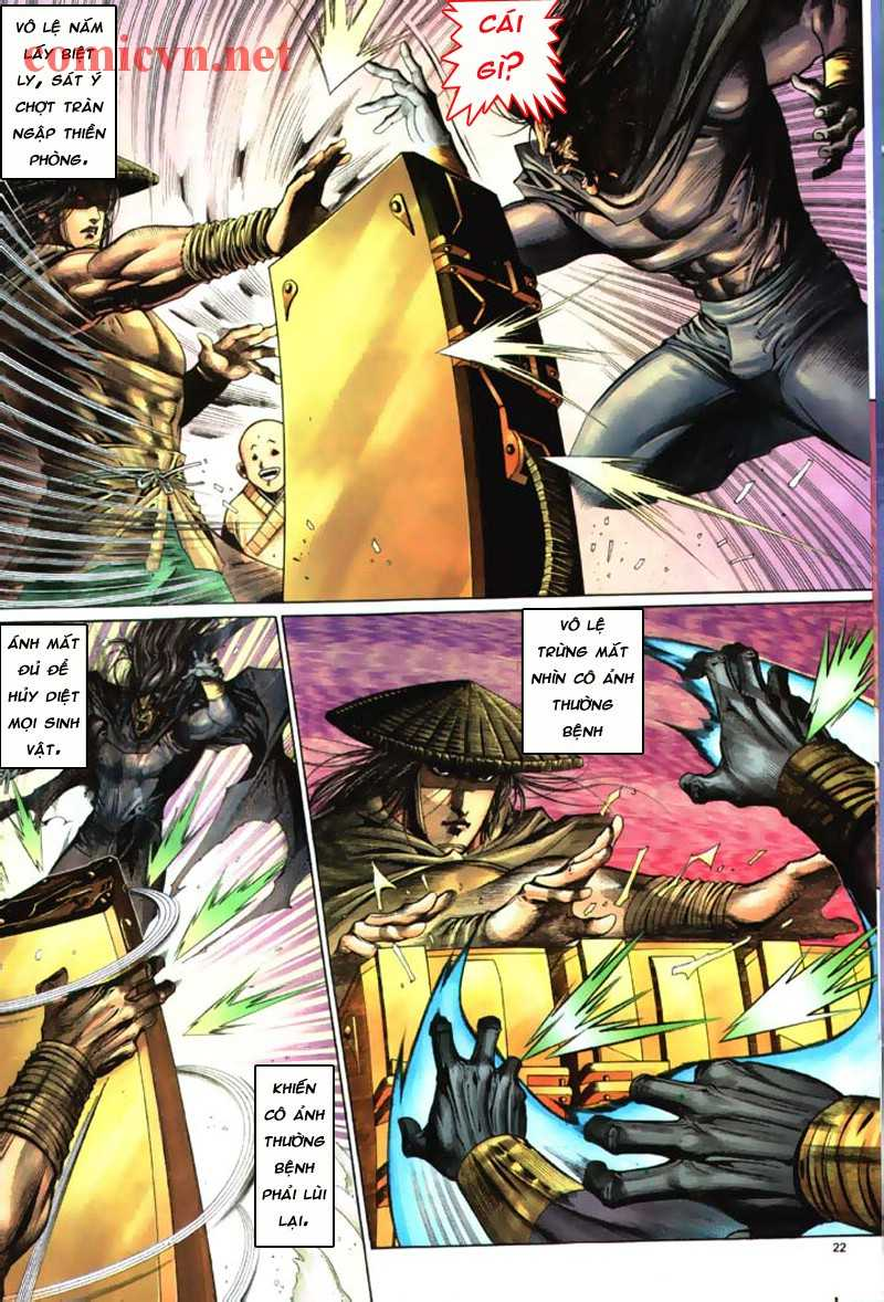 Anh hùng vô lệ Chap 8: Biệt ly là vũ khí trang 21