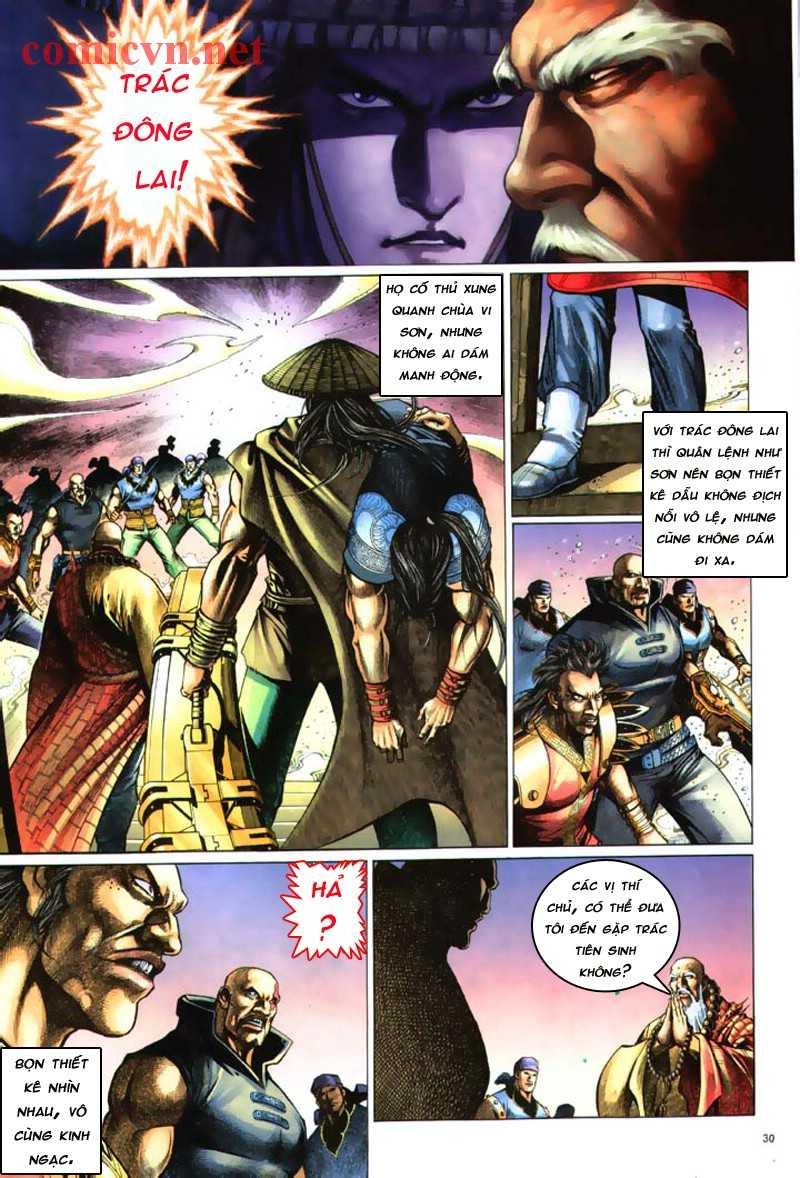 Anh hùng vô lệ Chap 8: Biệt ly là vũ khí trang 29