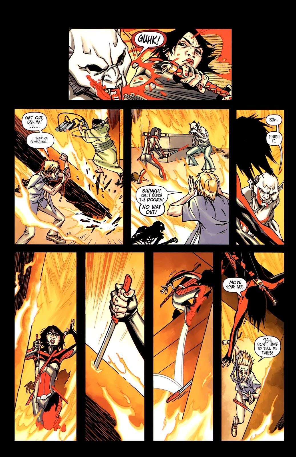 Read online Shinku comic -  Issue #5 - 21