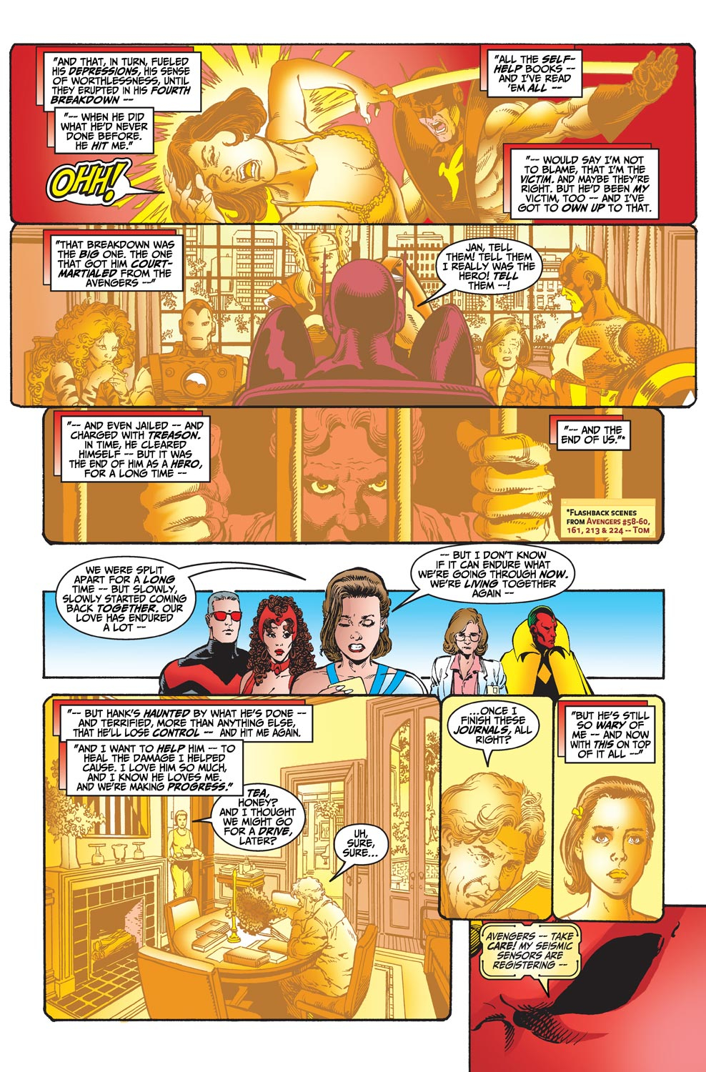 Read online Avengers (1998) comic -  Issue #20 - 14