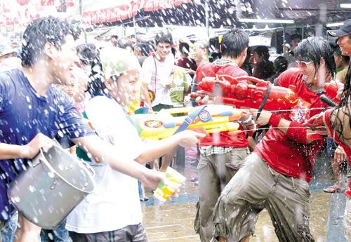 water festival thailand