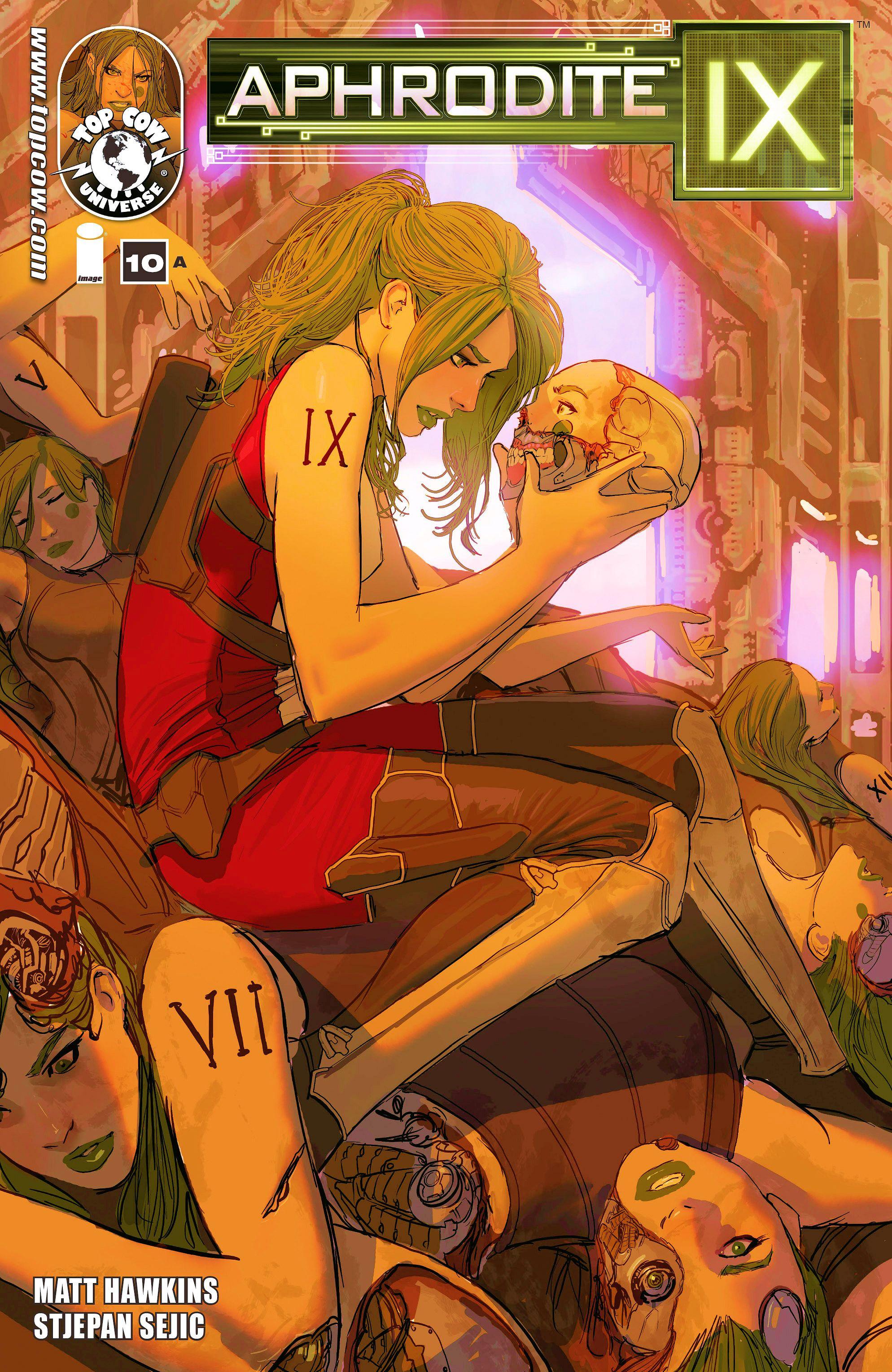 Read online Aphrodite IX (2013) comic -  Issue #10 - 1