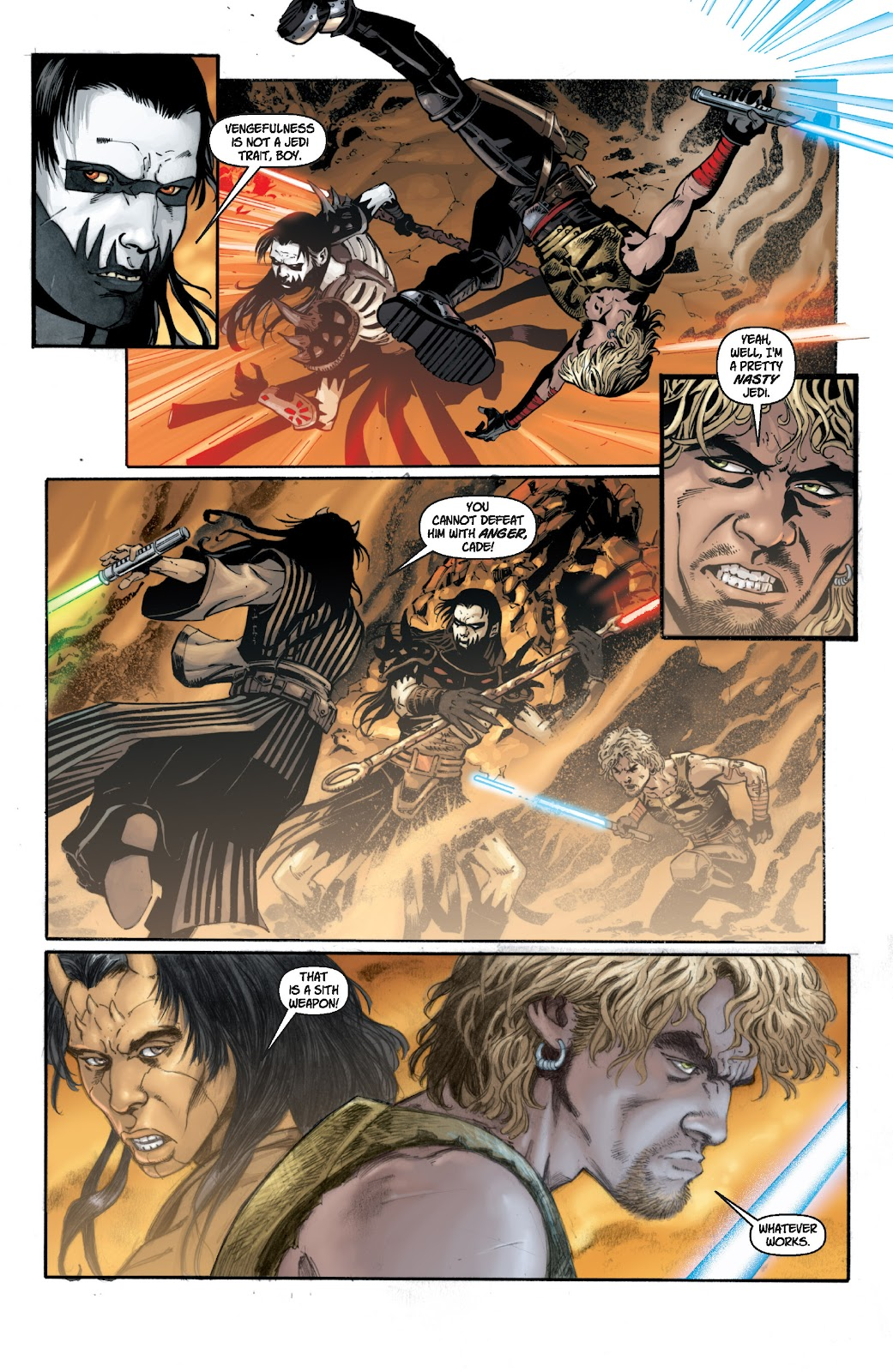 Read online Star Wars Legends: Legacy - Epic Collection comic -  Issue # TPB 1 (Part 2) - 29