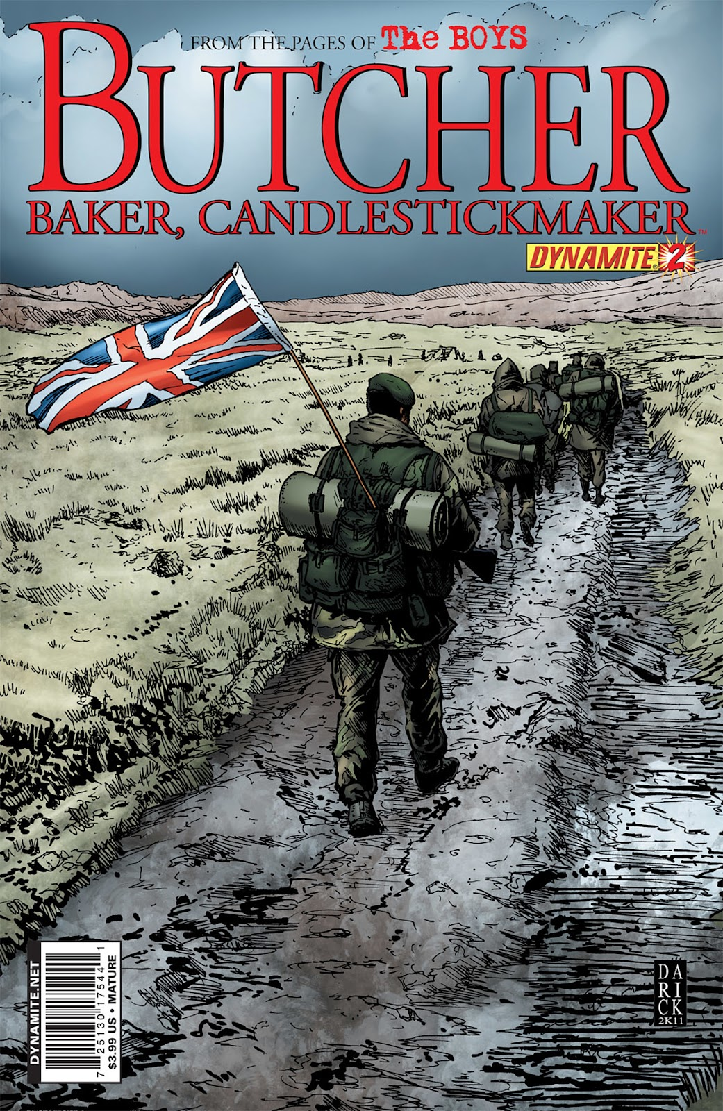 Read online The Boys: Butcher, Baker, Candlestickmaker comic -  Issue #2 - 1