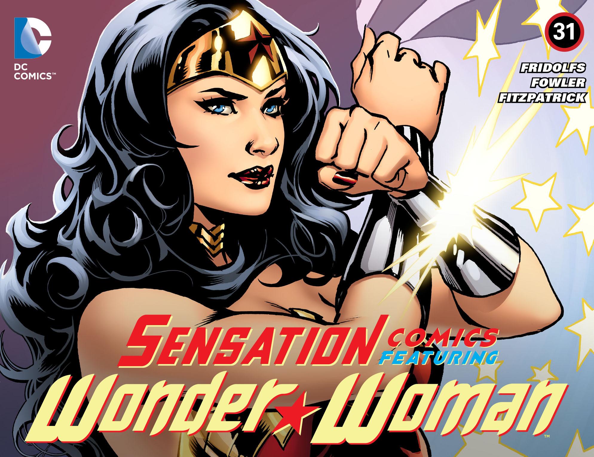 Read online Sensation Comics Featuring Wonder Woman comic -  Issue #31 - 1