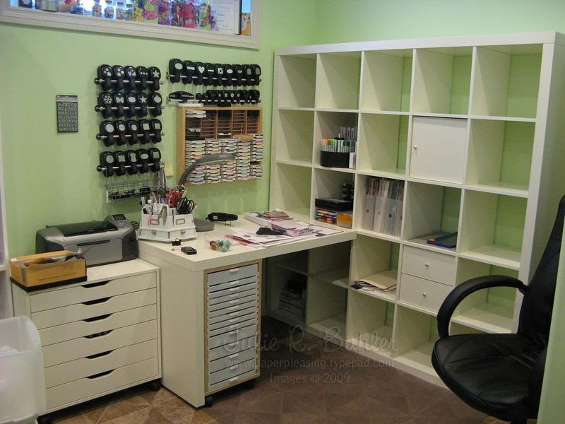 craft room desk ideas crafty storage the most of a small space 4021
