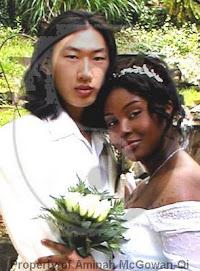 Korean girl with black guy