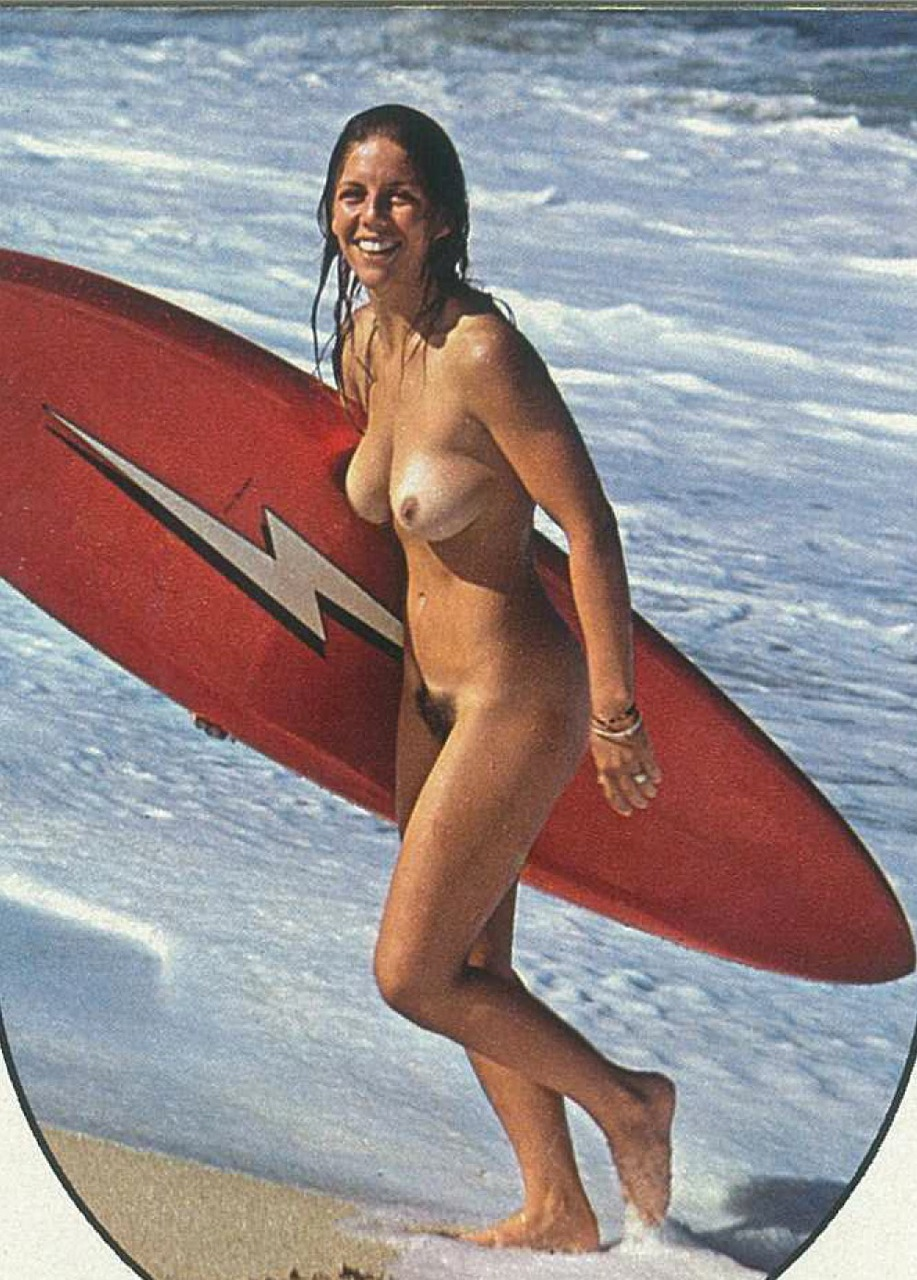 Nude surfer girl nailed