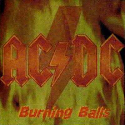 AC/DC Burning Balls Cleveland Ohio Agora Ballroom 77  [EX