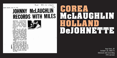 Corea / McLaughlin - New York '68 [lossless flac bootleg] :: Viva