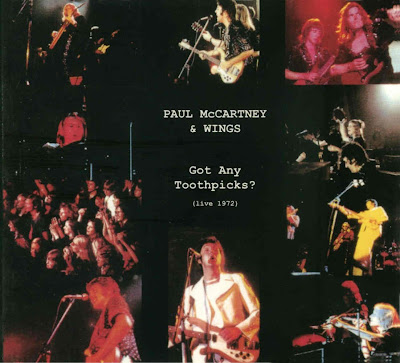 Paul McCartney Wings Got Any Toothpicks Cine Rome Antwerp The Hague Netherlands Concergebow Amsterdam 1972 Ex Soundboard MP3 320 Kbps