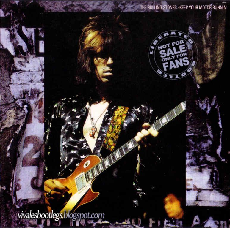 Rolling Stones feat Stevie Wonder: Keep Your Motor Runnin'  72 US