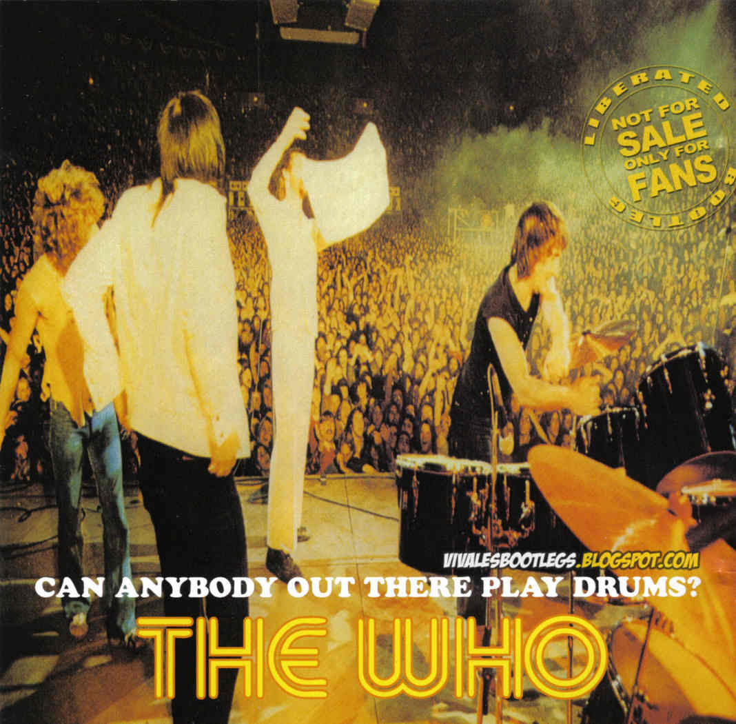 The Who: Can Anybody Out There Play The Drums? Cow Palace, San