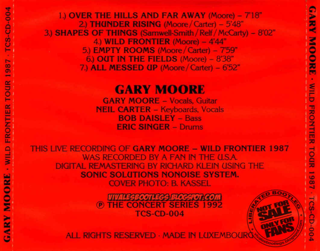 Gary Moore Empty Rooms Live
