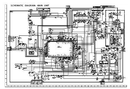 SCHEMATIC: schematic diagram for tv sharp 21df25