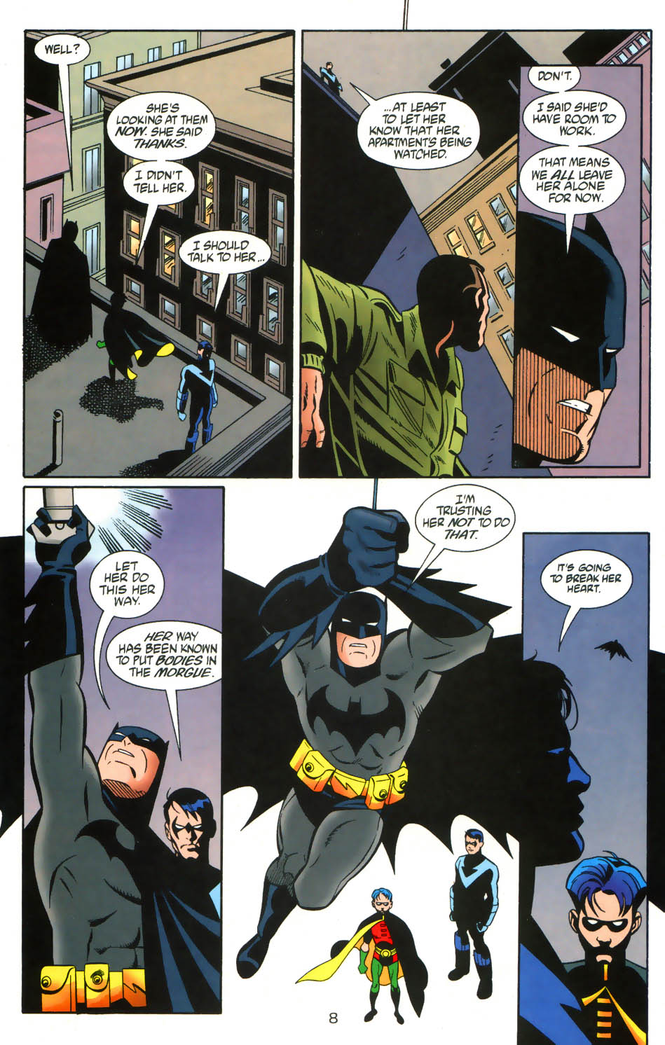 Read online Batman/Huntress: Cry for Blood comic -  Issue #5 - 9