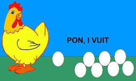 La classe del Guillem 2: La gallina ponicana
