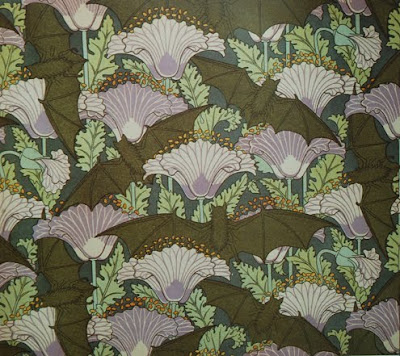 Choklit chanteuse things that please me arts crafts - Bat and poppy wallpaper ...
