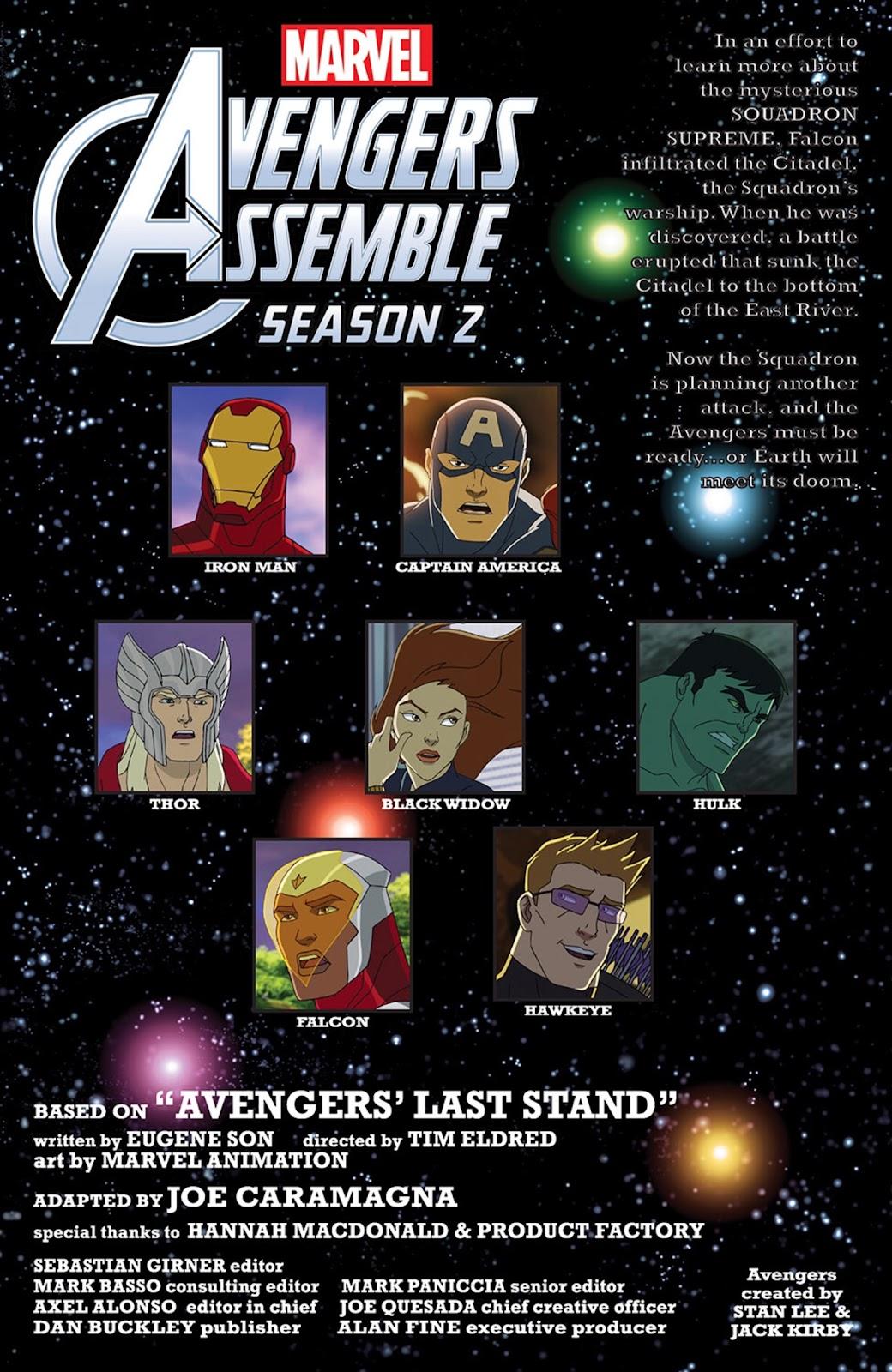 Read online Marvel Universe Avengers Assemble Season 2 comic -  Issue #13 - 3