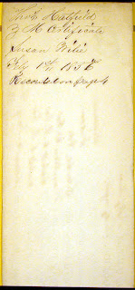 Cabell County WV Early Marriages: 1857 Cabell County WV