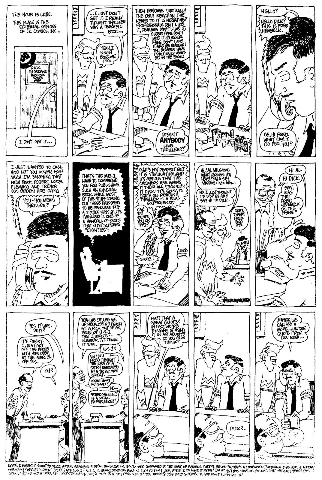 Read online The Nearly Complete Essential Hembeck Archives Omnibus comic -  Issue # TPB (Part 4) - 55