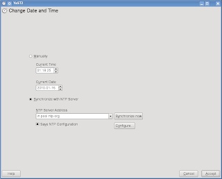 How to Synchronize System Clock with NTP Time Server on