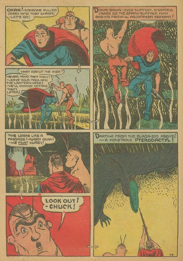 Read online Amazing Man Comics comic -  Issue #9 - 45