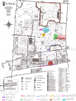 Unc Greensboro Campus Map.Hss 105 Map
