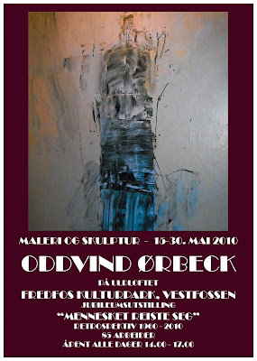Utstilling med Oddvin Ørbeck