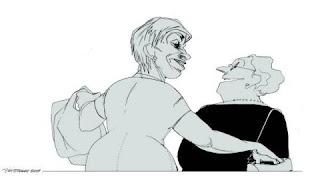 Se Dagsavisens valgkarikaturer av Siri Dokken