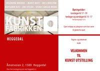 Kunstutstilling på Kunstfabrikken Heggedal