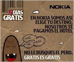 Promocion Nokia en canciones para el movil