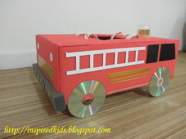 Inspiredkids Fire Truck Costume