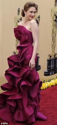 Vera Farmiga Oscars 2010 Marchesa