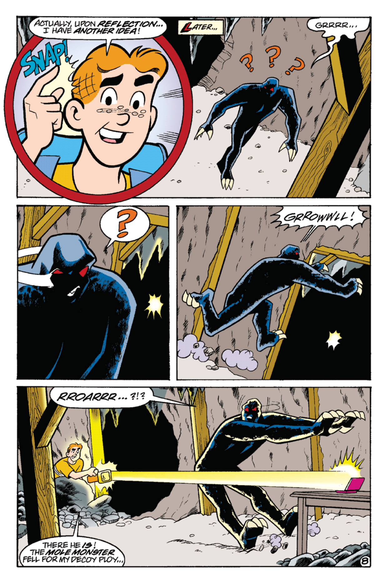 Read online Archie's Weird Mysteries comic -  Issue #22 - 22