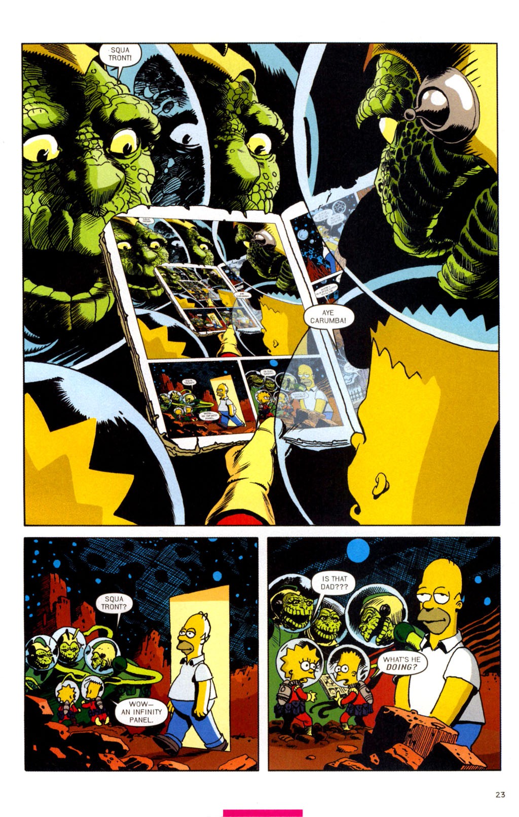 Read online Treehouse of Horror comic -  Issue #11 - 54