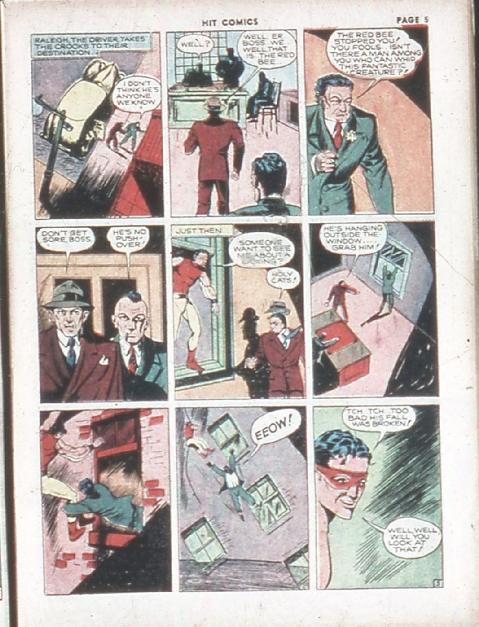 Read online Hit Comics comic -  Issue #7 - 7