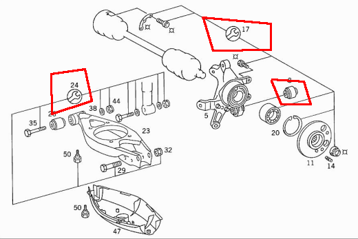 Mercedes Benz 240d Engine Vacuum Diagram 1983 380SL Engine