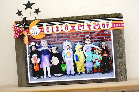 Davinie Fieros Boo Crew Halloween Decor from our Sept/Oct. issue.