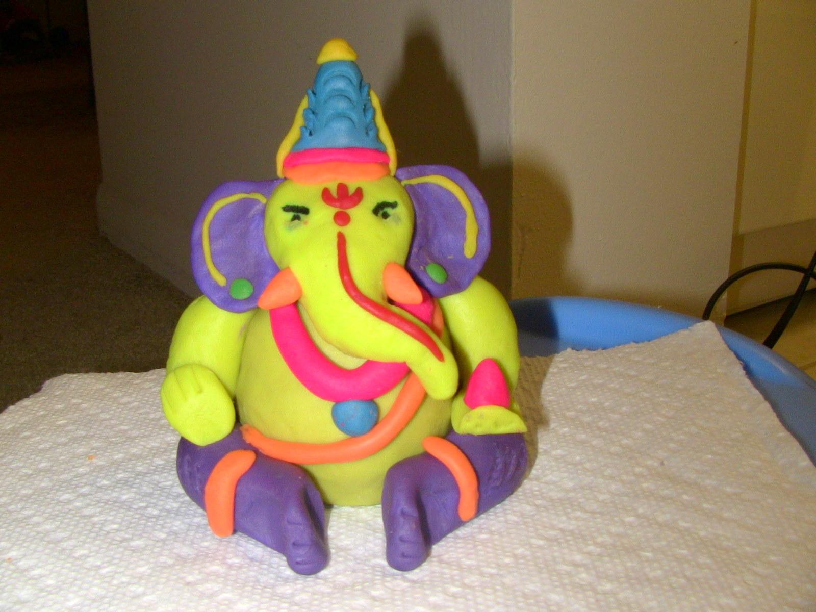 My Cuppa Soul Life Art Food Fun Diy Ganesha Idol And Vinayaka